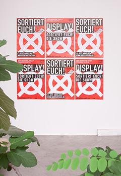 Sortiert euch Plakate für Monster Truck und Theater Rampe - panorama studio für visuelle kommunikation