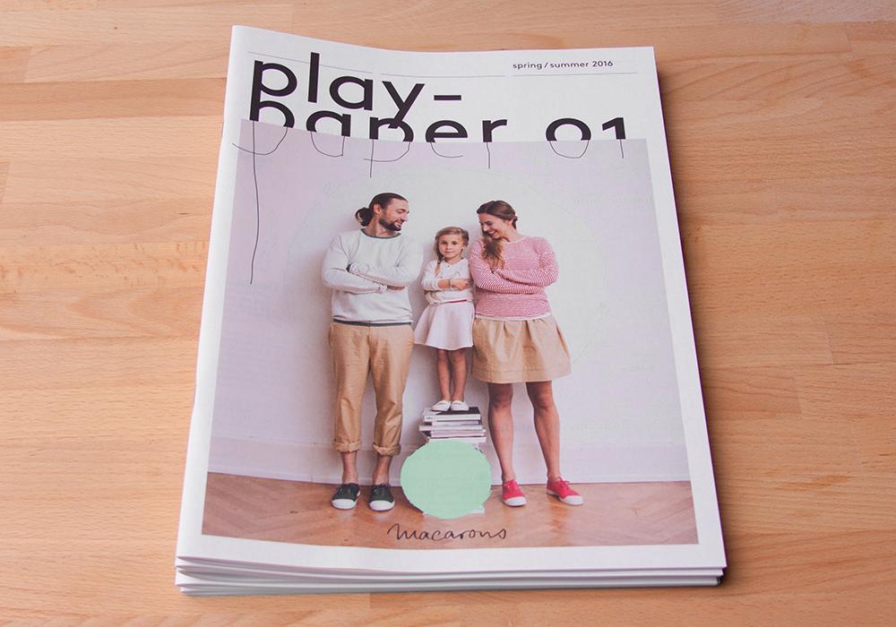 Das Play Paper Magazin Design für Macarons - panorama studio für visuelle gestaltung