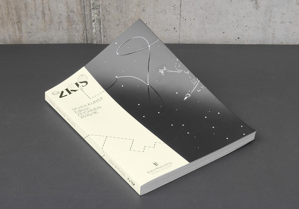 Cover mit Veredelung für das ZKIS vom Land Baden-Württemberg - panorama studio für visuelle Gestaltung
